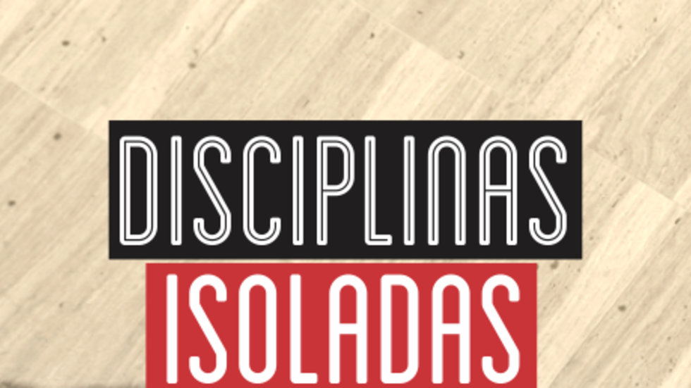 disciplina isolada