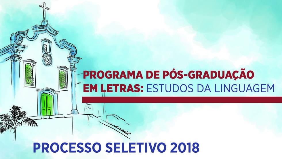 Cartaz processo seletivo 2018